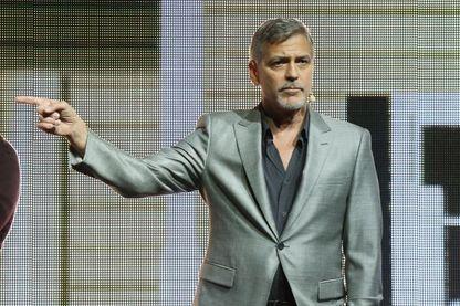 George Clooney le 28 mars 2017 à Las Vegas, Etats-Unis