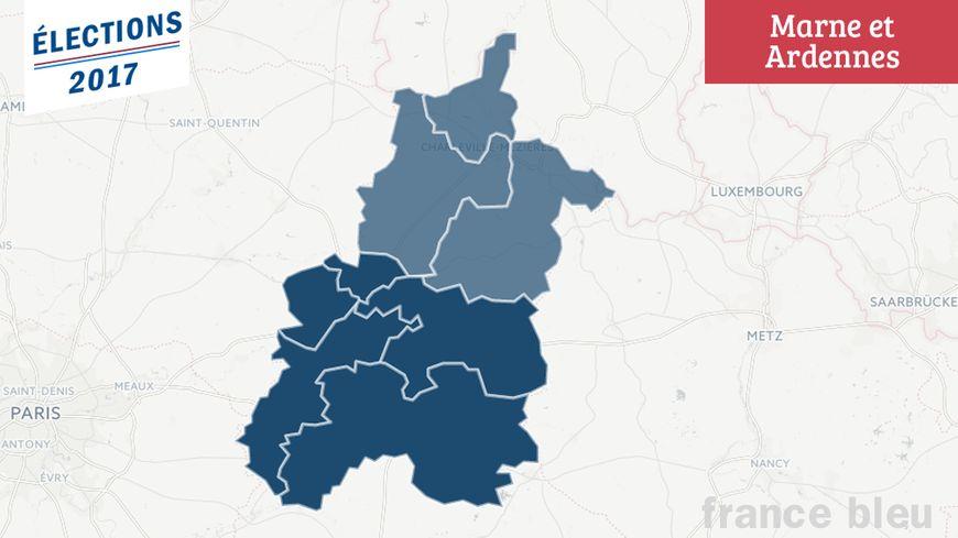 Les résultats des élections législatives dans la Marne et les Ardennes.