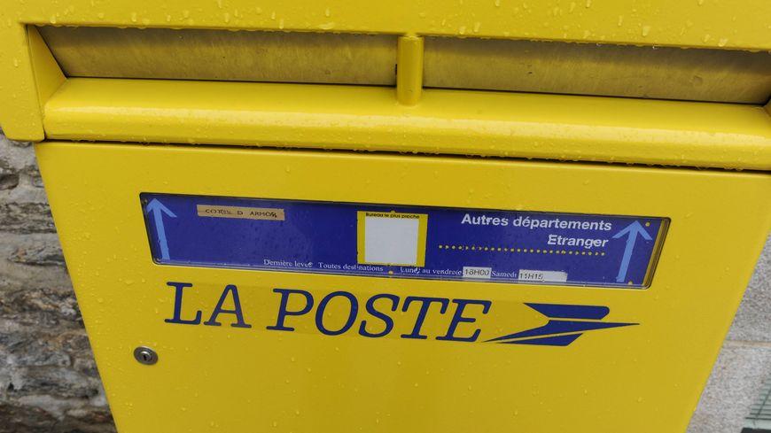 le courrier est levé le plus souvent à 9 h 00