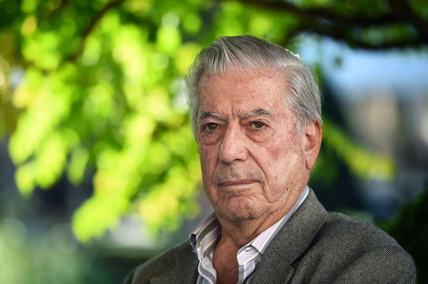 L'écrivain Mario Vargas Llosa en 2010