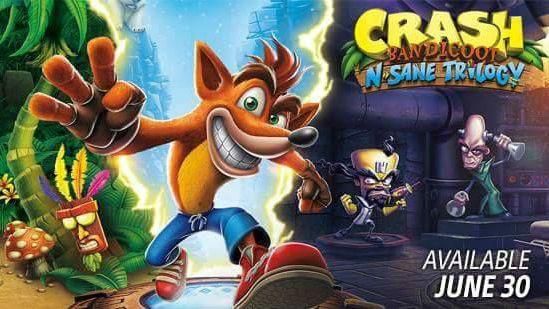 La nouveauté PS4 : Crash Bandicoot Remastered sort le 30 juin. france Bleu Limousin vous en parle et vous offre ce jeu !
