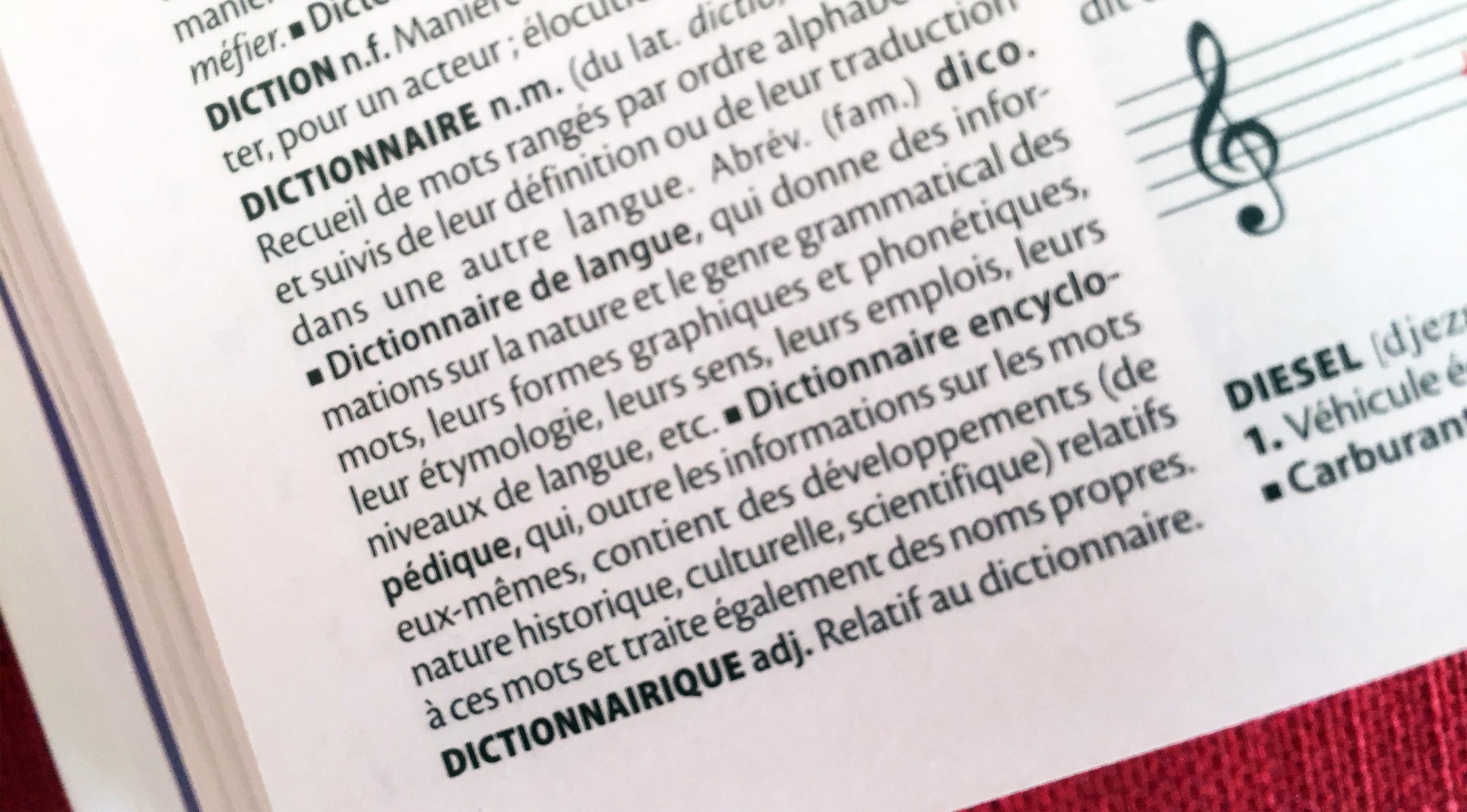 Le Dictionnaire C Est L Education Pour Tous