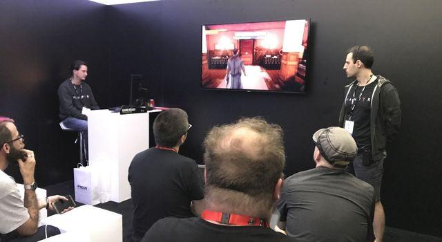 "Présentation ""behind closed doors"" à l'E3"