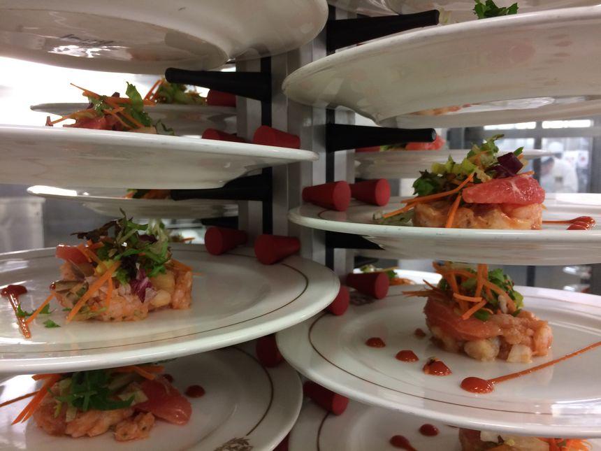 16 000 plats sont préparés quotidiennement