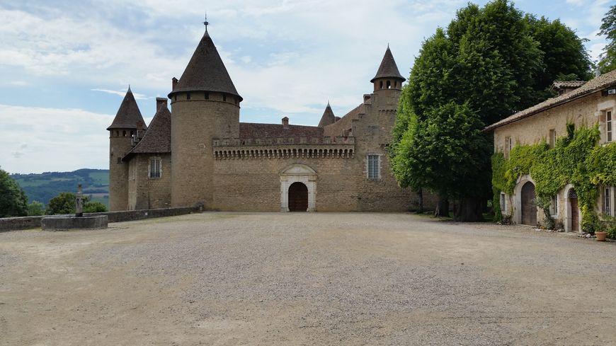 Le château de Vieur sur Bourbre
