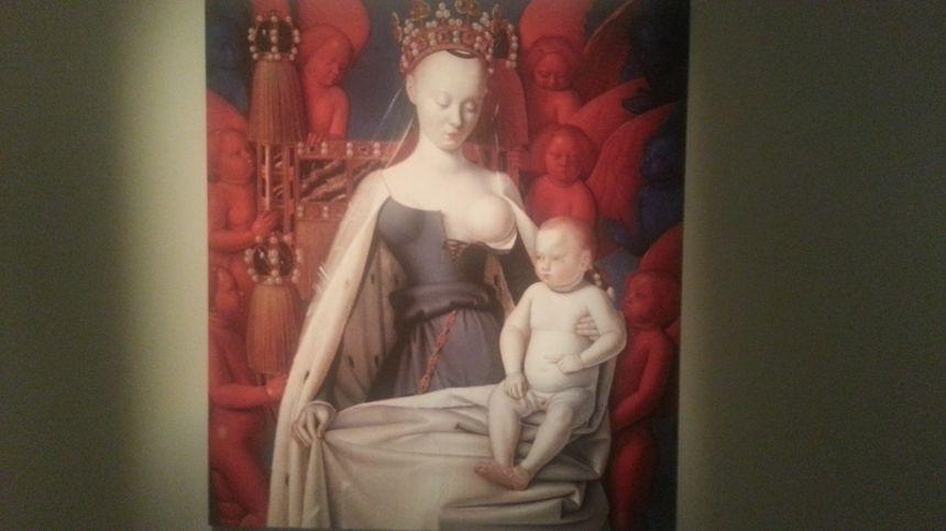 Agnès Sorel, la très influente maitresse du roi Charles VII, morte peu après une fausse couche.