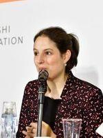 Cécile Girardeau (2017), conservateur du patrimoine, en fonction au Musée de l'Orangerie