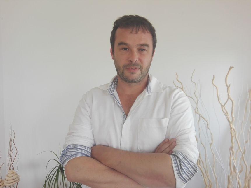 Aurélien Loro, le PDG d'Enez Aval