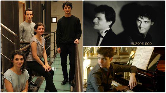 Le Quatuor Tchalik, Dania et Gabriel Tchalik (DR) ; Dimitri Malignan (DR)