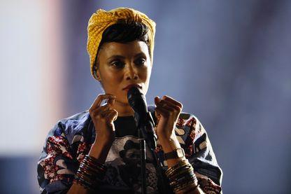 Imany sur la scène des 32e Victoires de la Musique - Février 2017