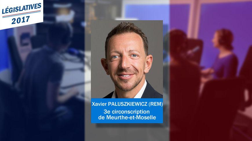 Xavier Paluszkiewicz, député REM de la 3e circo de Meurthe-et-Moselle.