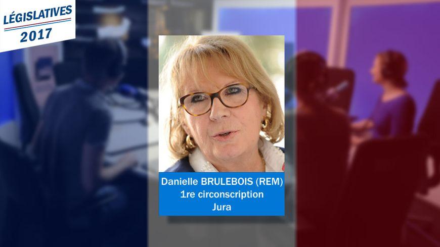 Danielle Brulebois, nouvelle députée (REM) dans la 1re circonscription du Jura.