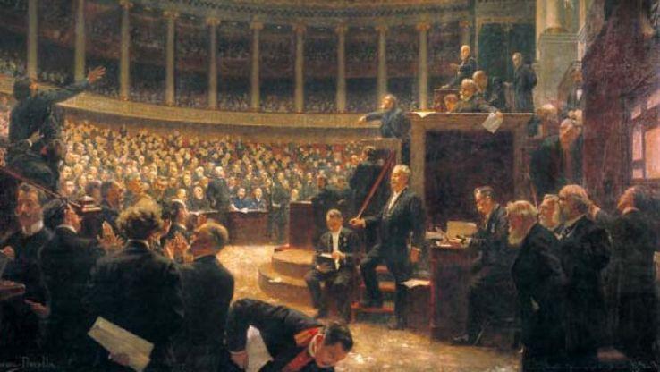 En 1919, le grand renouvellement de la Chambre \