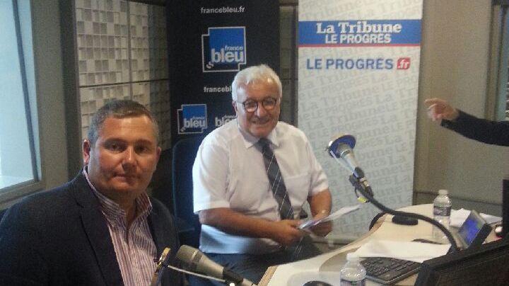 Julien Borowczyk (LREM) et Paul Salen (LR) ont débattu sur France Bleu