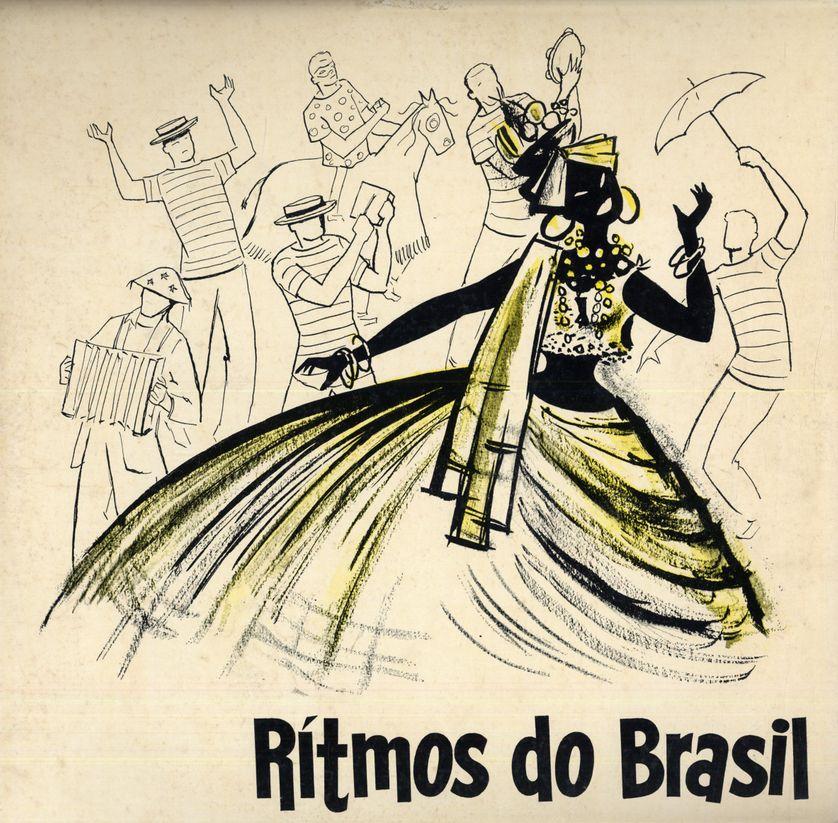 Ritmos Do Brasil (Label: Departamento De Turismo Da Prefeitura Do Distrito Federal )