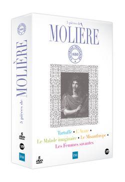 Illustration pour 5 pièces de Molière - Comédie française, INA, éditions du Montparnasse