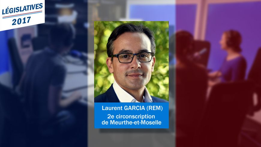 Nouveau député de la 2e circonscription de Meurthe-et-Moselle : Laurent Garcia, de La République en marche.