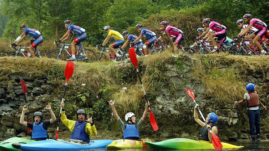 En 2003, le Tour de France était déjà parti de St-Girons.