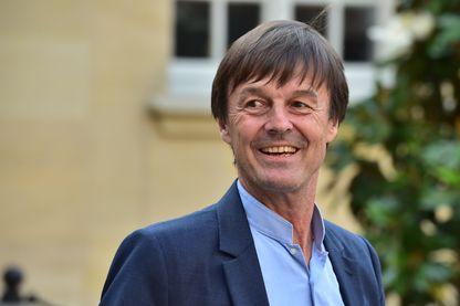 Nicolas Hulot, ministre de la transition écologique et solidaire