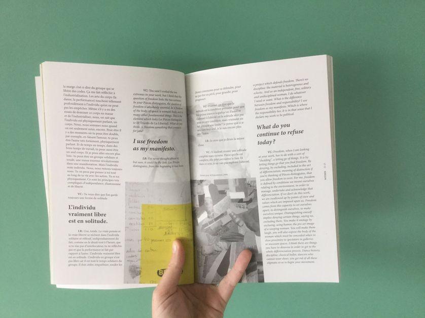 Premier numéro revue watt, LA RIBOT avec Volmir Cordeiro