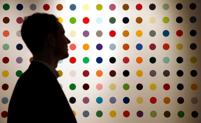 """""""Ipranium Bromide"""" de Damien Hirst, à la vente de Christie's à Londres, le 6 février"""