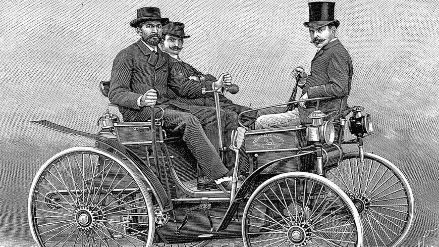 La première voiture d'Armand Peugeot, 1890
