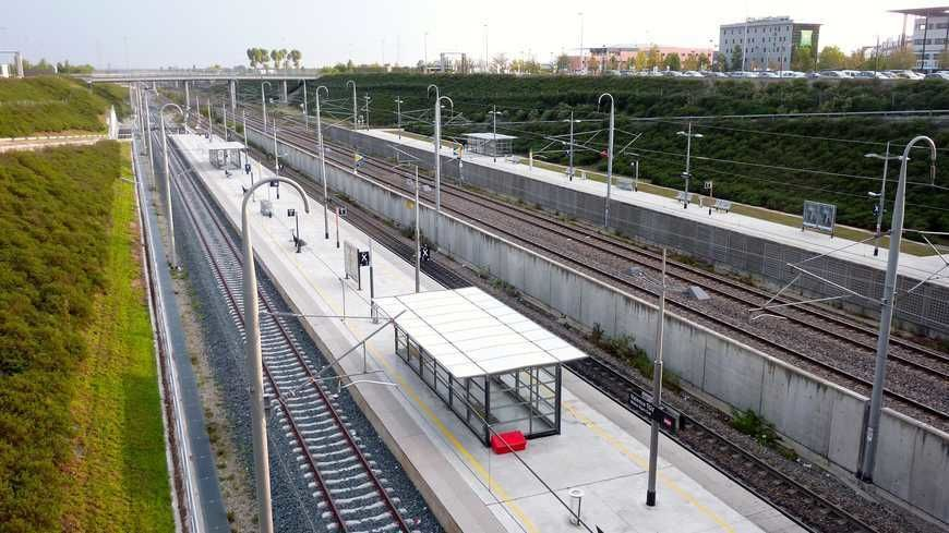 La gare de Valence TGV