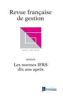 Revue française de gestion n°249