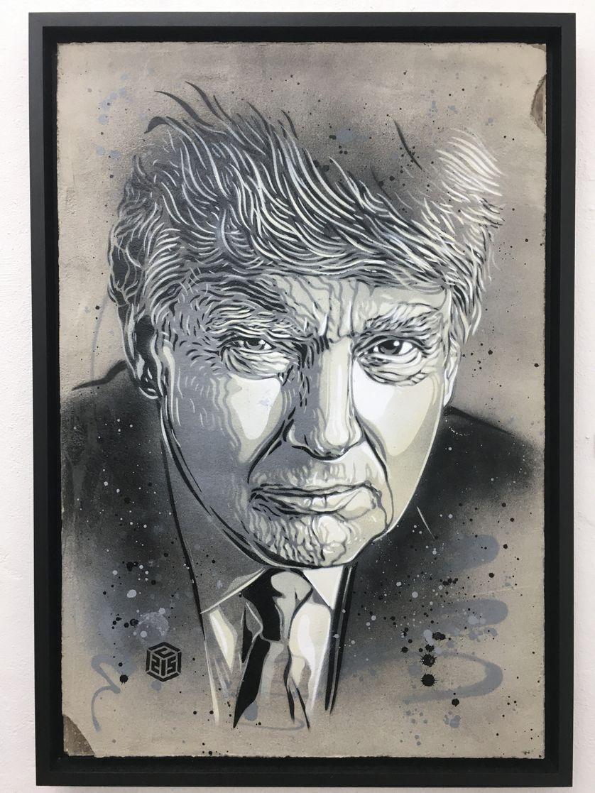 Portrait de Donald Trump
