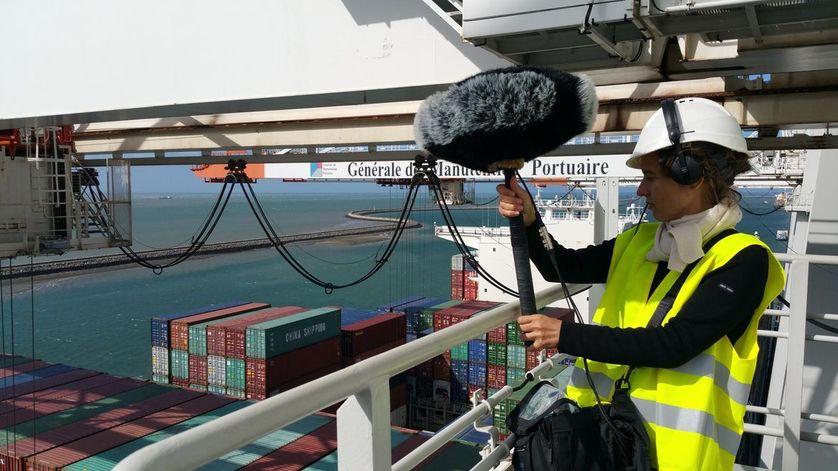 """""""Les Passagers du son"""", installation sonore à découvrir au Port Center du Havre"""