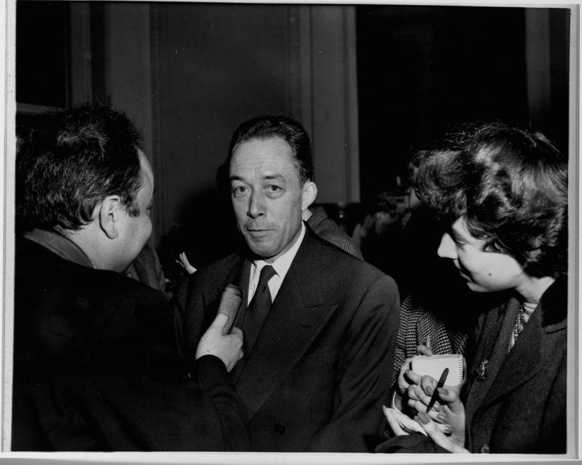 Albert Camus en interview après son Prix Nobel de littérature, 1957