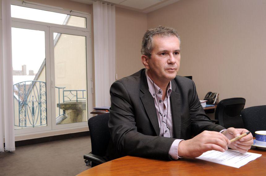 Pierre Mutzenhardt, le président de l'Université de Lorraine