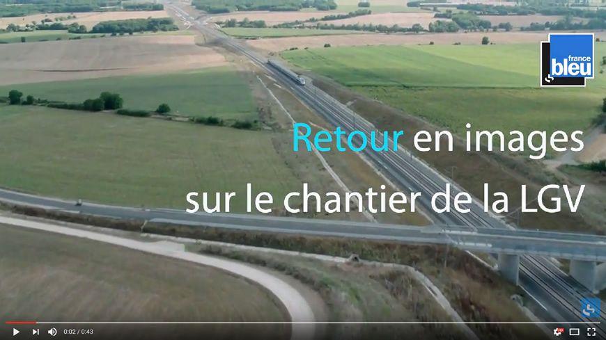Retour en images sur le chantier de la LGV Paris-Bordeaux