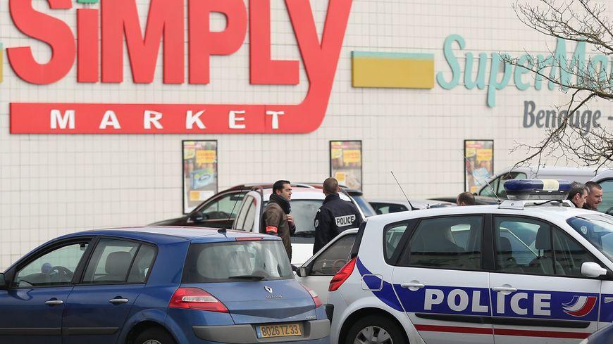 Le Simply market de la Benauge à Bordeaux où se sont déroulés les faits le 23 février 2014