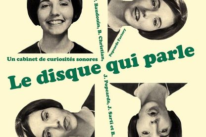 """""""Le disque qui parle"""" (couverture du livre disque)"""