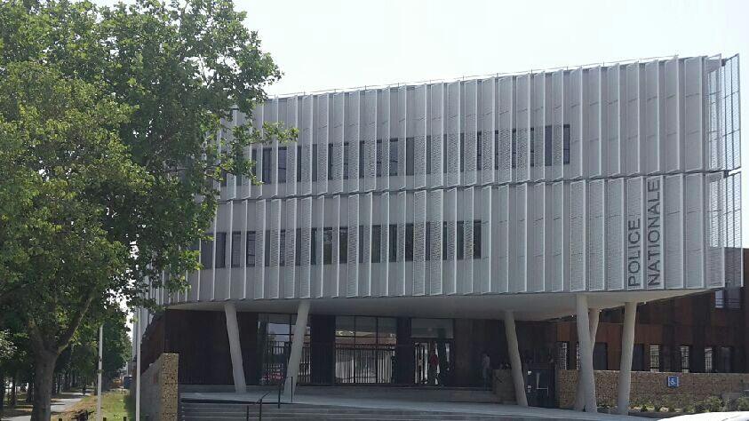 Le nouveau commissariat de police de La Rochelle , situé 1 rue de La Marne