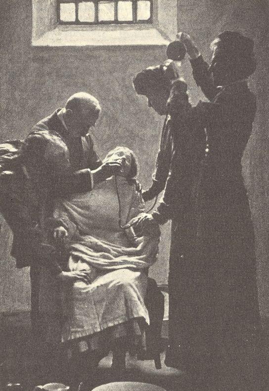 Le gavage d'une suffragette