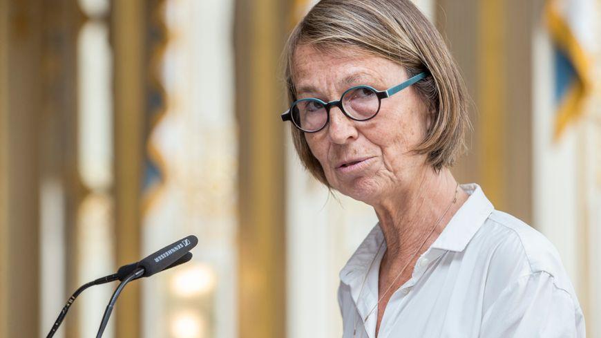 Françoise Nyssen lors de la remise du Prix du Livre