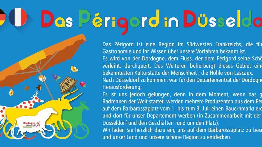 Le Périgord va communiquer auprès des Allemands