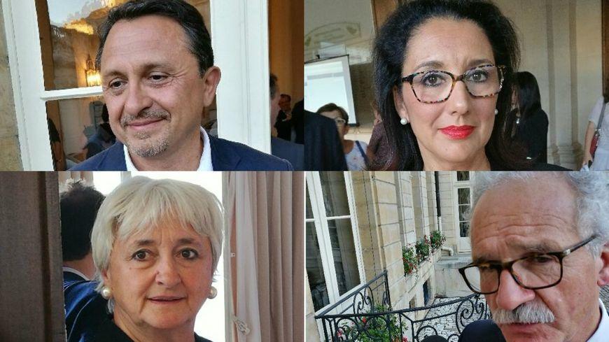 Les quatre députés de la République en Marche élus en Côte d'Or