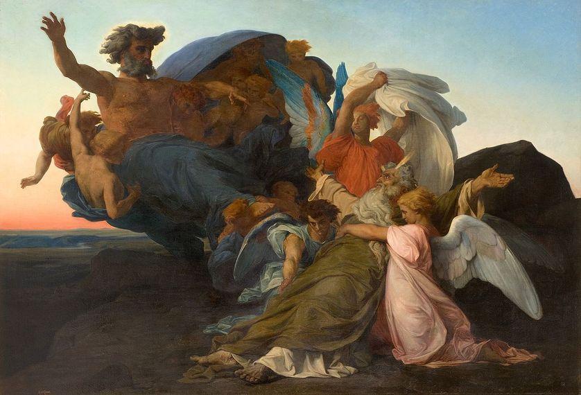 La mort de Moïse