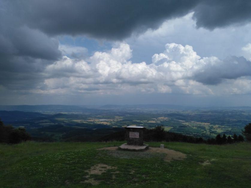 Sommet du mont Beuvray à Bibracte