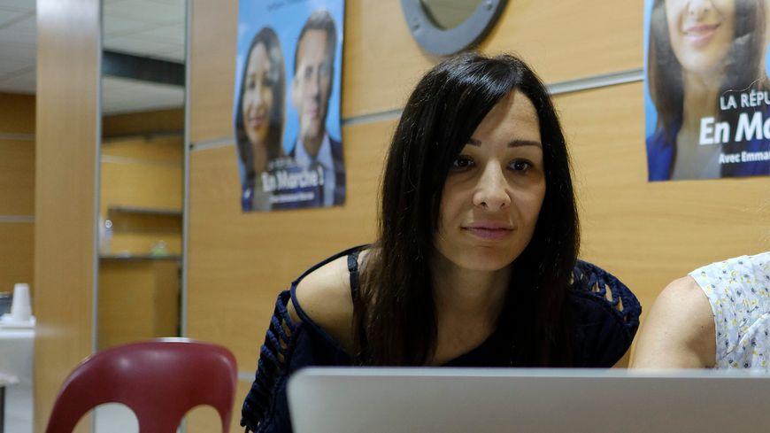 Alexandra Louis, nouvelle députée REM de la 3e circonscription des Bouches-du-Rhône.