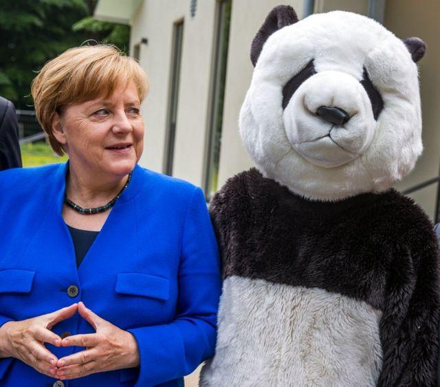 Angela Merckel sera présente au Zoo de Berlin pour accueillir les pandas