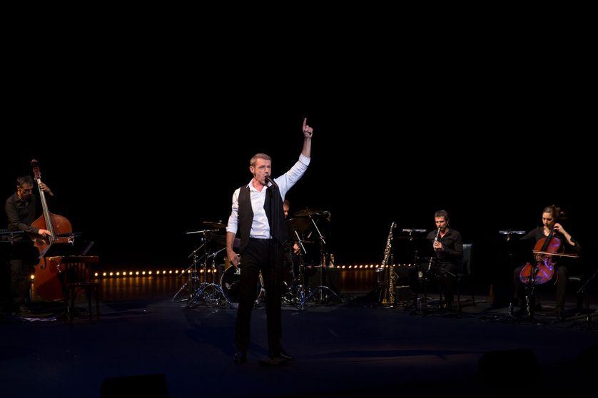 Wilson chante Montand, TNP Villeurbanne