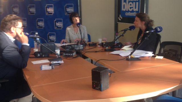 Benoite Nouet et Philippe Gosselin ont débattu pendant 20 minutes avec Lucie Thuillet.