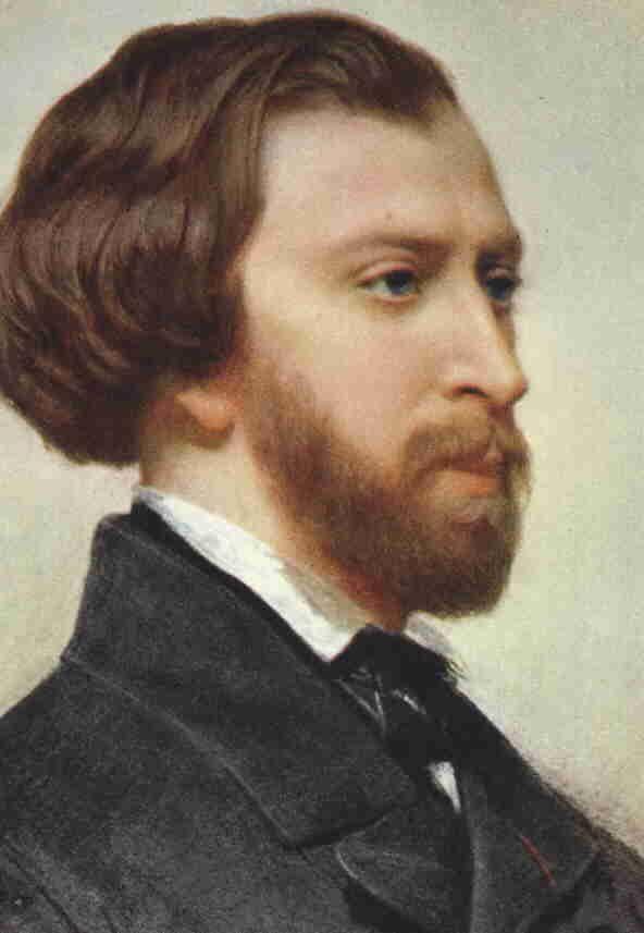 portrait d'Alfred de Musset