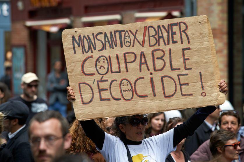 Manifestation anti OGM et pesticides à Toulouse mai 2017.