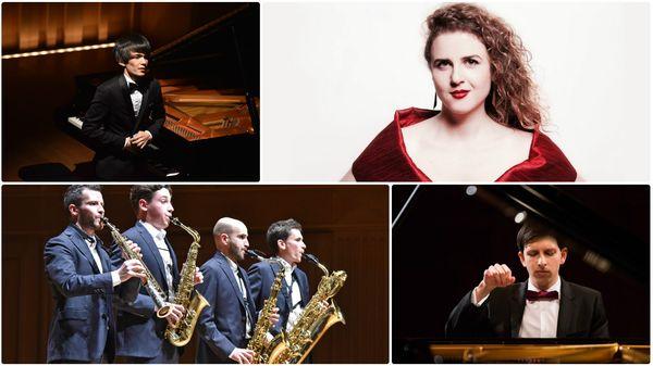 Eva Zaïcik et ses amis ; Dmitry Sin ; Lukasz Krupinski ; le Quatuor Zahir