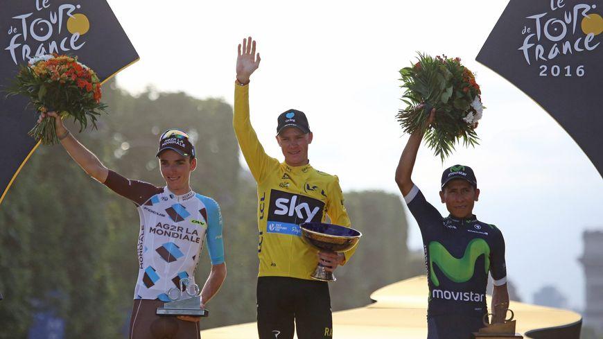 Froome, Bardet, Quintana : le podium du Tour de France l'an passé